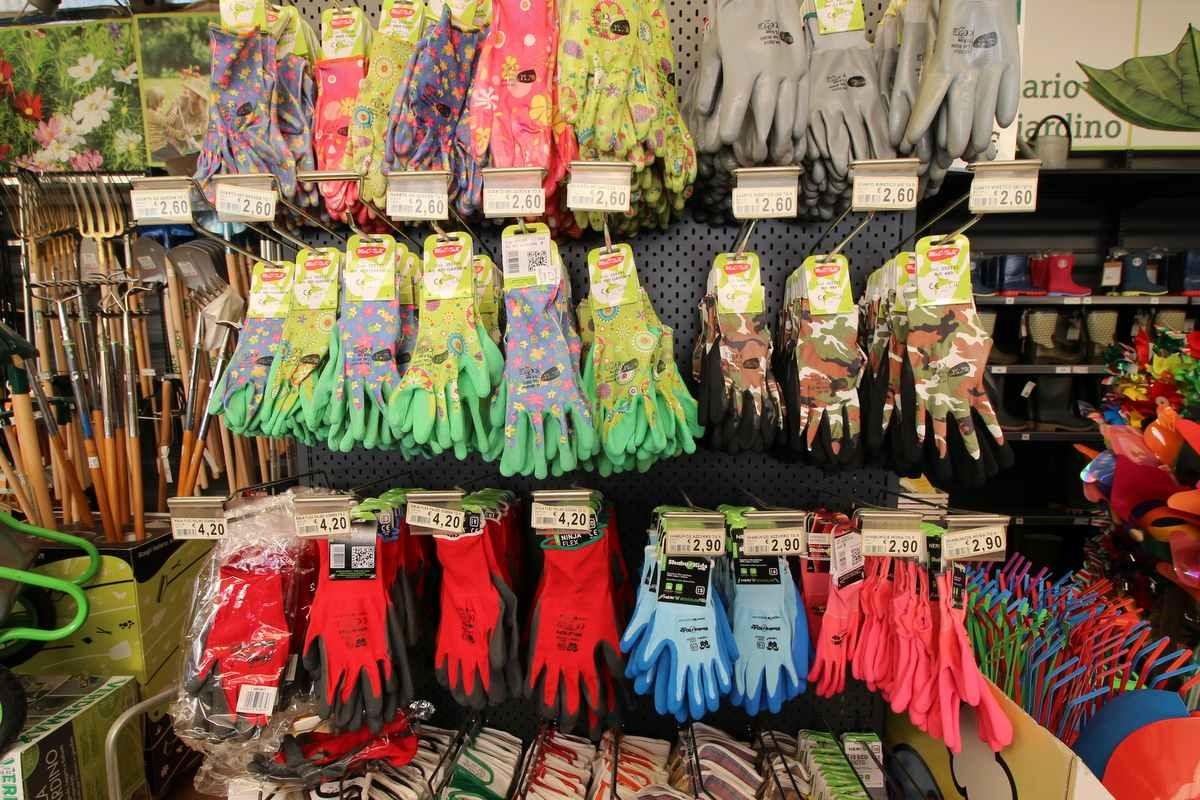 vendita guanti giardino bassano