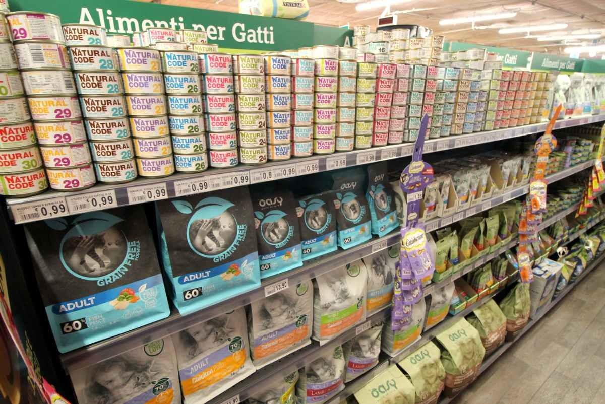 NAtural Code alimenti gatti bassano